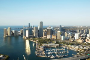 aerial view of Miami, Performance Labs 2013
